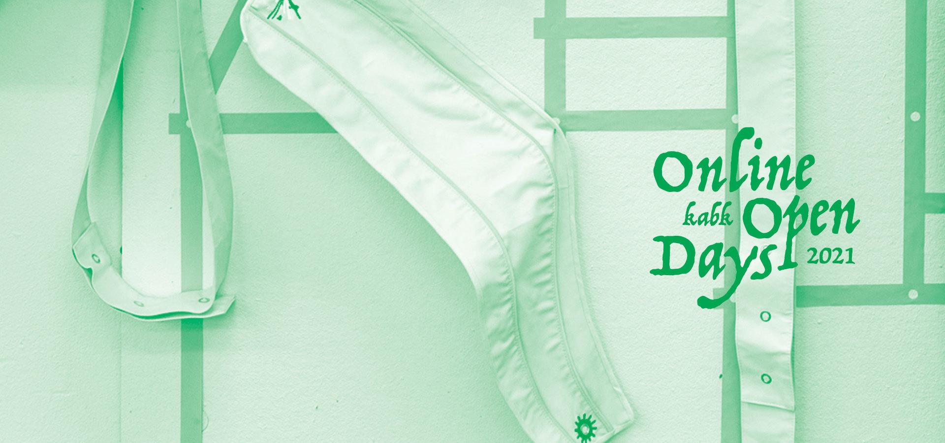 KABK banner Online Open Days campaign 2021