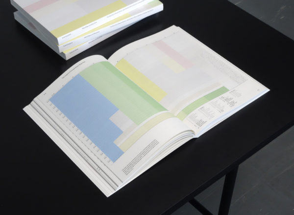 Joost Grootens, Blind Maps and Blue Dots (2020), visualisations and book design: SJG