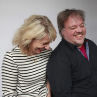 profile photo of co heads KABK Graphic Design, Roosje Klap & Niels Schrader
