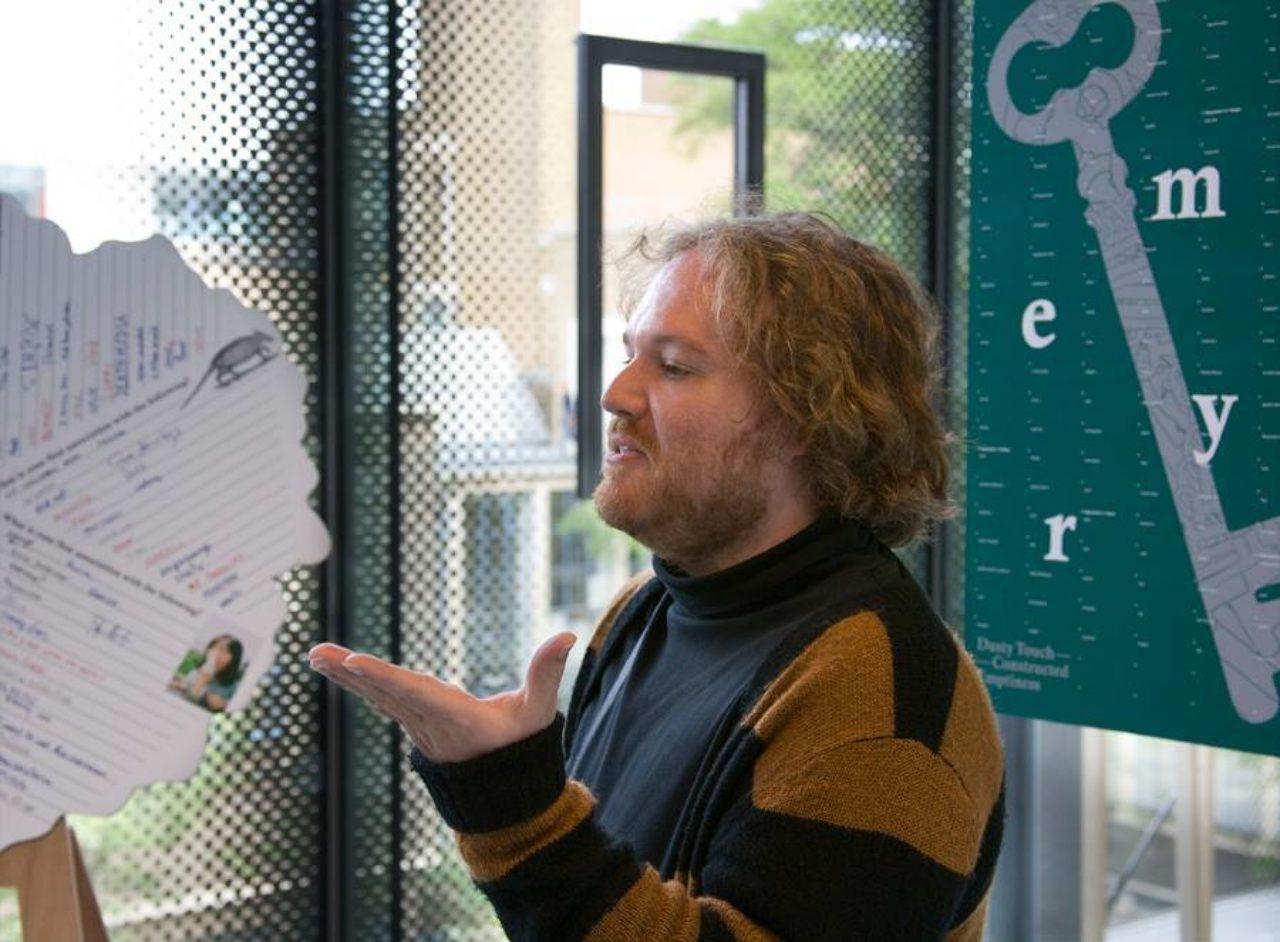 profile photo Maarten Cornel - teacher at the Bachelor Graphic Design, KABK