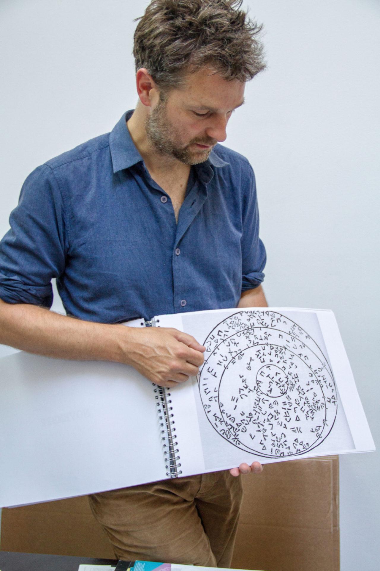 profile photo Richard Niessen - teacher at the Bachelor Graphic Design, KABK