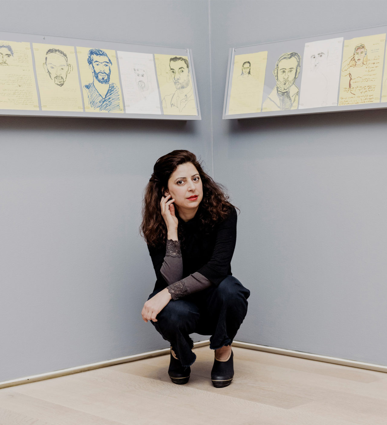 Mounira Al Solh, Visiting artist at the Master Artistic Research