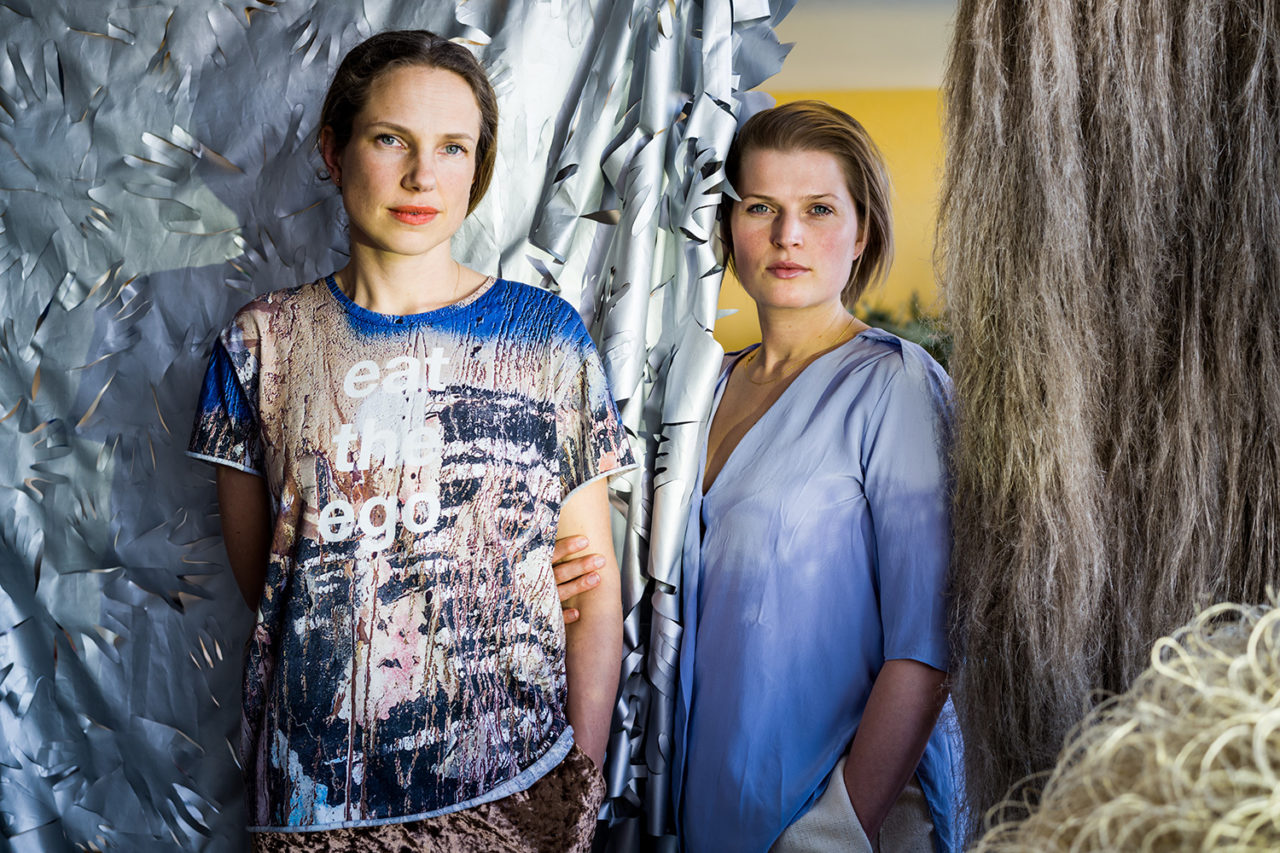 Brecht Duijf and Lenneke Langenhuijsen - photo by Boudewijn Bollmann