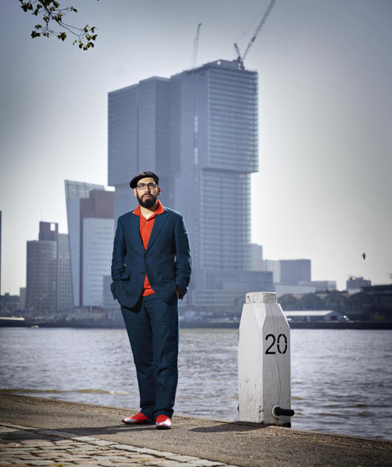 Yassine Salihine tutor Design Research at the Master Industrial Design in photo by Merlijn Doomernik