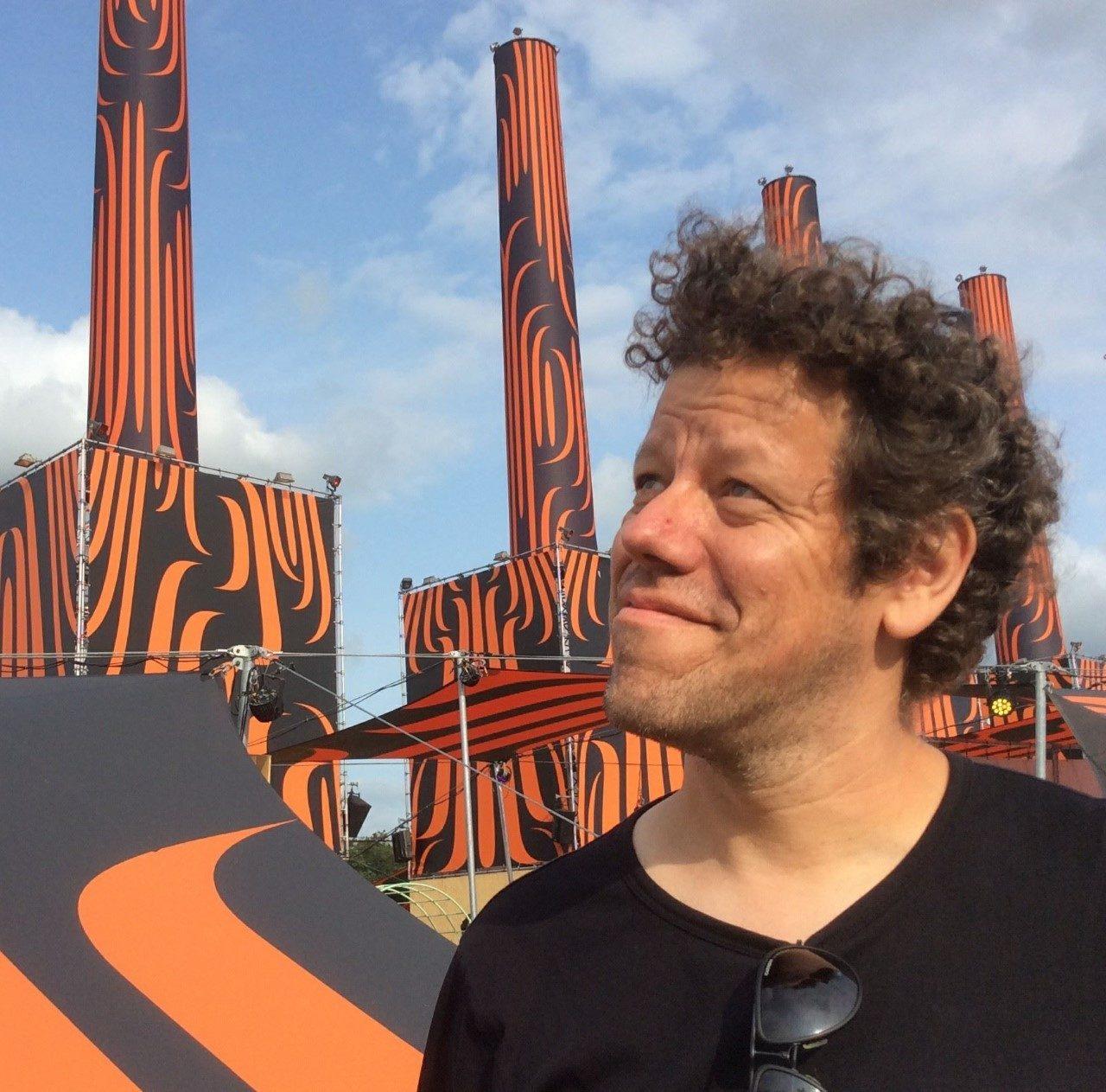 Just van Rossum, teacher at TypeMedia Royal Academy of Art The Hague