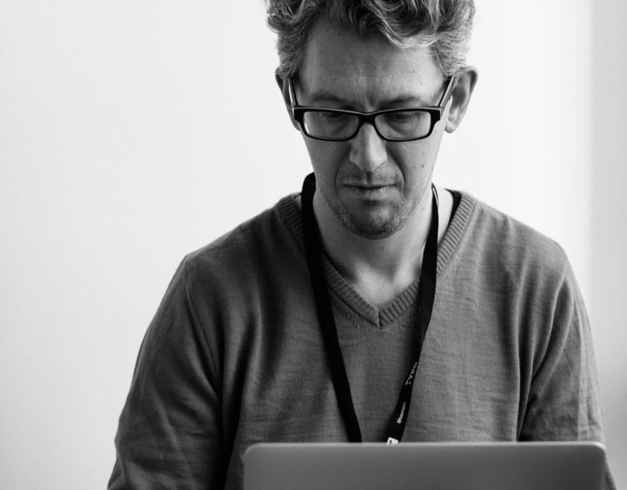 Paul van der Laan, teacher at TypeMedia Royal Academy of Art The Hague