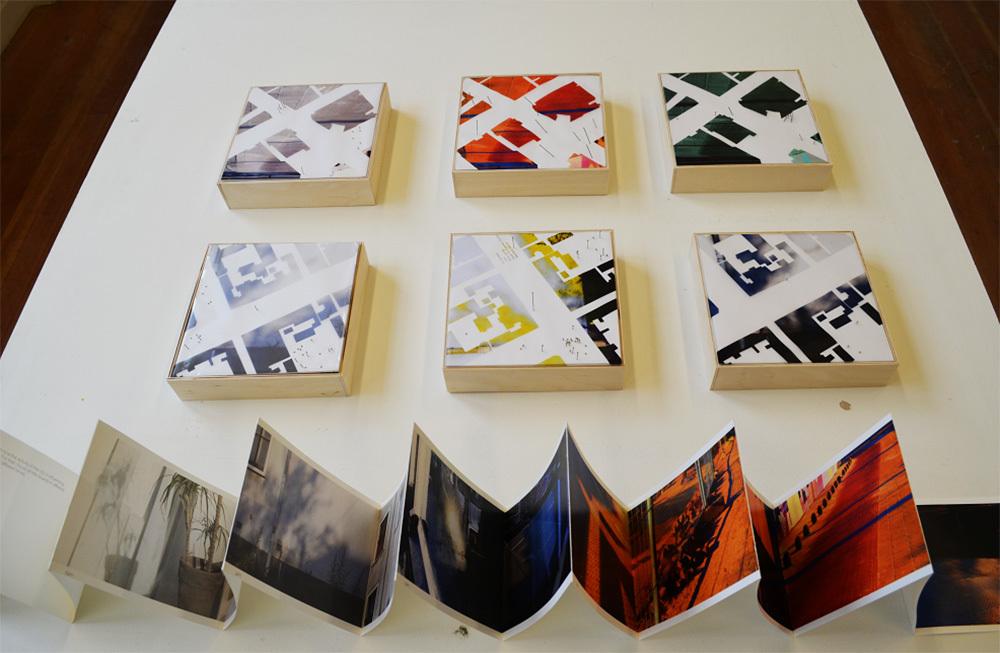 Werk van student Naomi Rossignol voor de tentoonstelling HedenHaags in de Mesdag