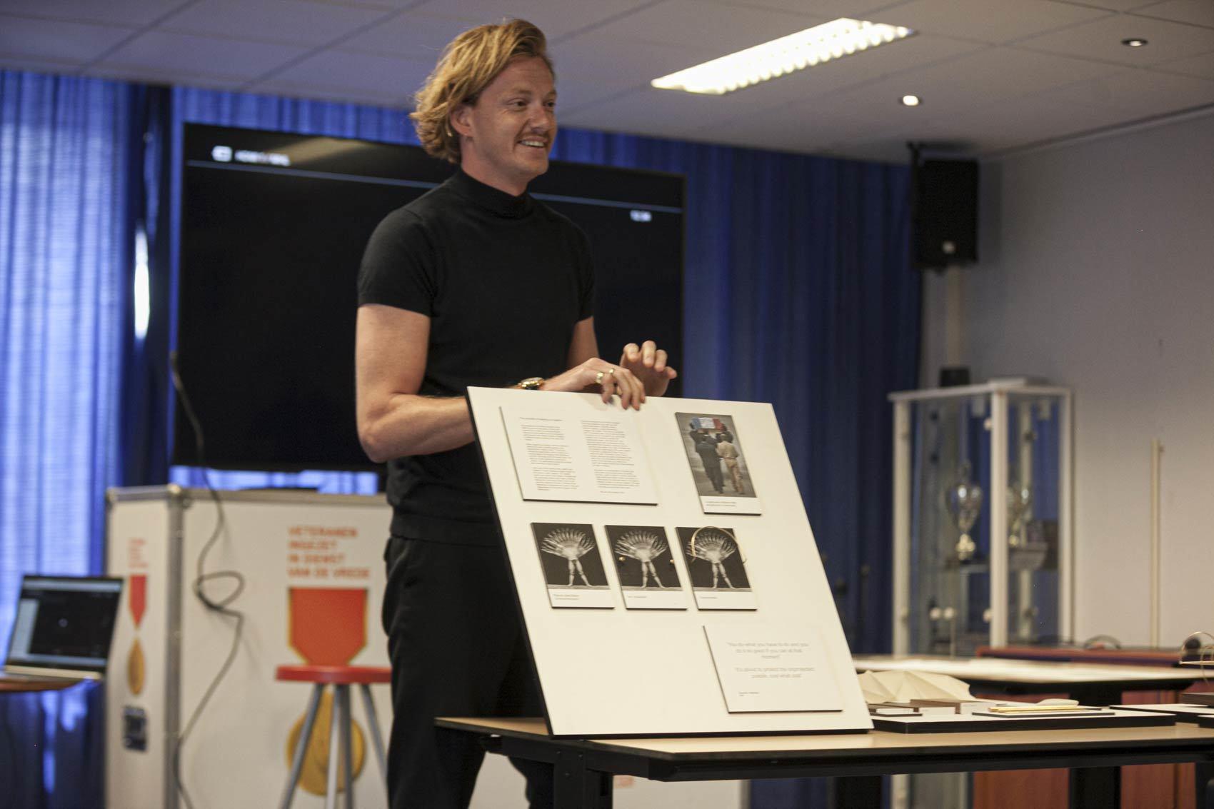Tommy de Moor - Witte Anjer Prijs ontwerpconcept 2020