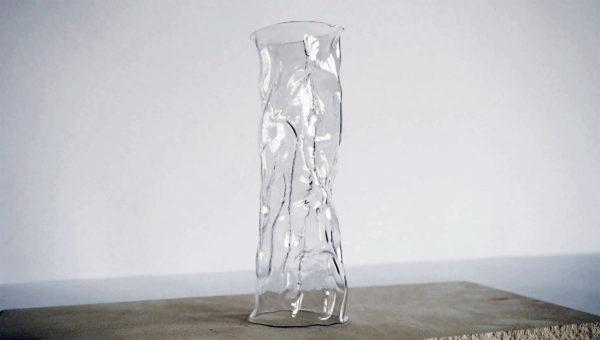 glazen vaas - conceptontwerp & prototype voor de 2021 Jos Brink Award door Chiel Lubbers