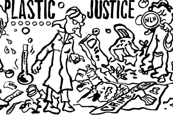 Illustration for Plastic justice expo during Health Summit 2021