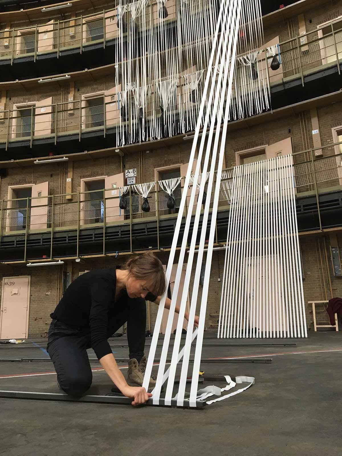 Lyndsey Housden - Installing Chasm