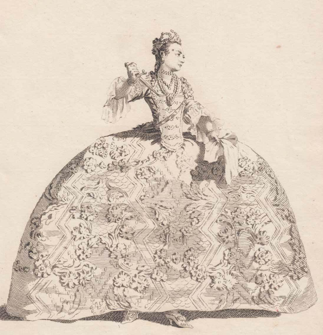 An 18th-century English actress