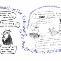 To Research or Not To Research in the Post-disciplinary Academy?