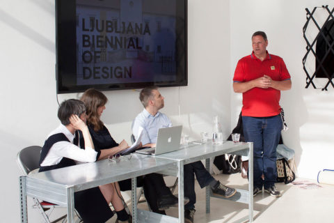 Reset presentation by KABK at Salone del Mobile 2016