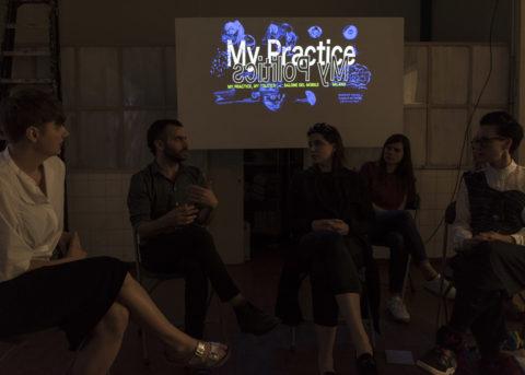Artist talk at My Practice, My Politics