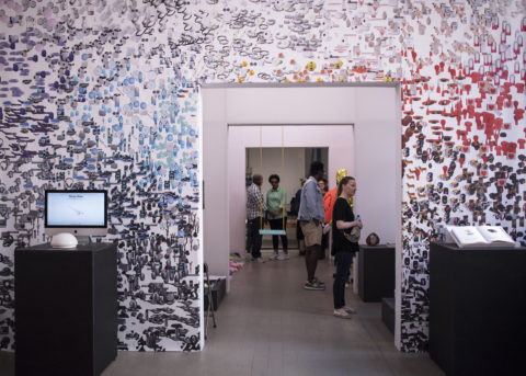 Overview KABK exhibition My Practice, My Politics during Salone del Mobile 2018