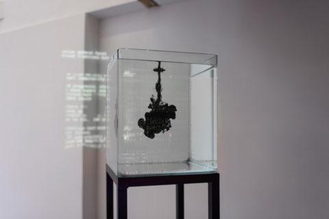 Katarina Petrović's installation in KABK presentation of My Practice, My Politics at Stroom Den Haag