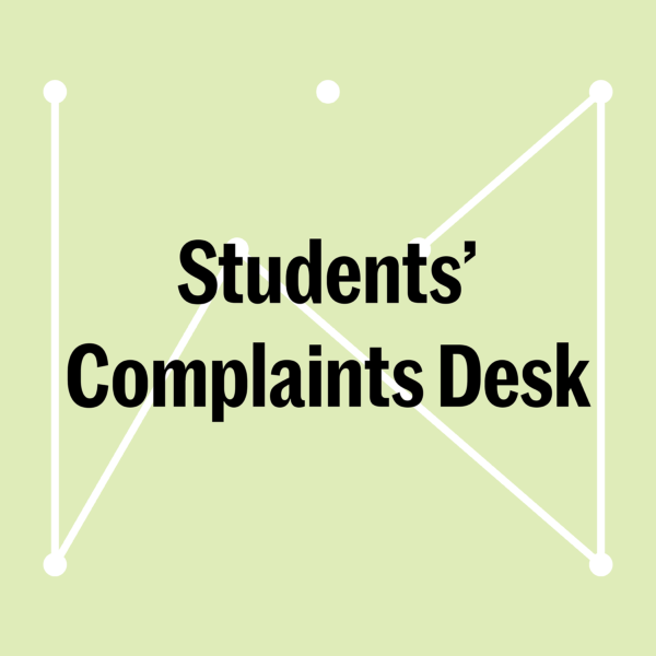 banner Students' Complaints Desk