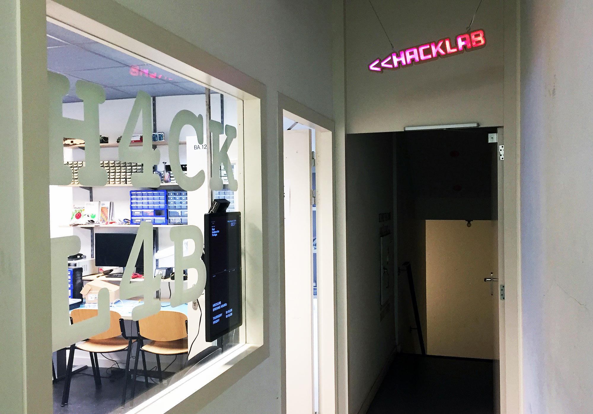 KABK Hacklab werkplaats